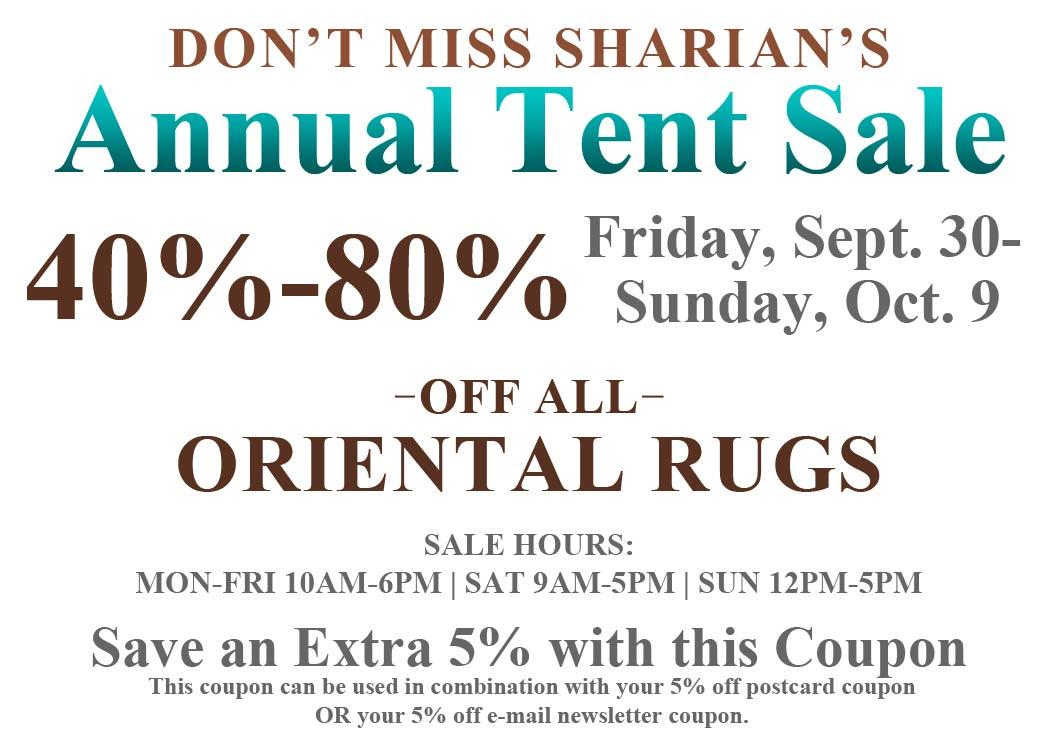 Atlanta Oriental Rug Dealer Rug Cleaning Sharian Tent